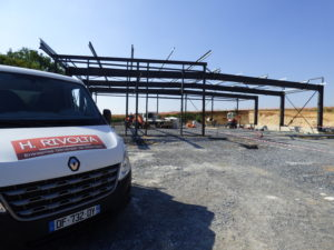nouveau chantier construction