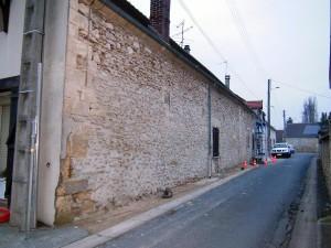 Rejointoiement d'un mur en pierre